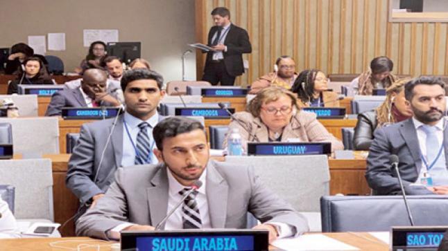 المملكة تؤكد أمام الأمم المتحدة حرصها على ترسيخ منهج الوسطية عبر الوسائل الإعلامية